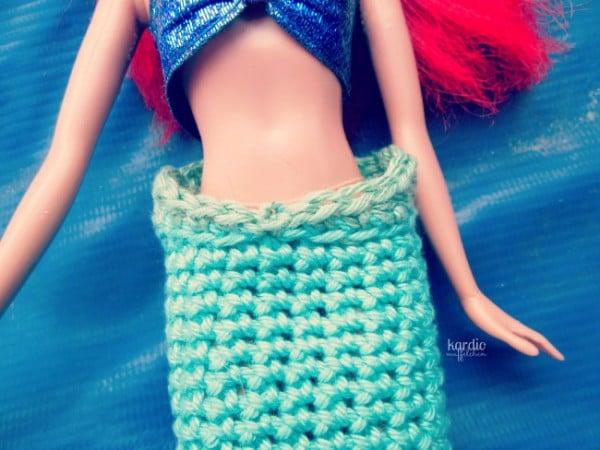 Gehäkelte Meerjungfrauflosse Handmade Kultur