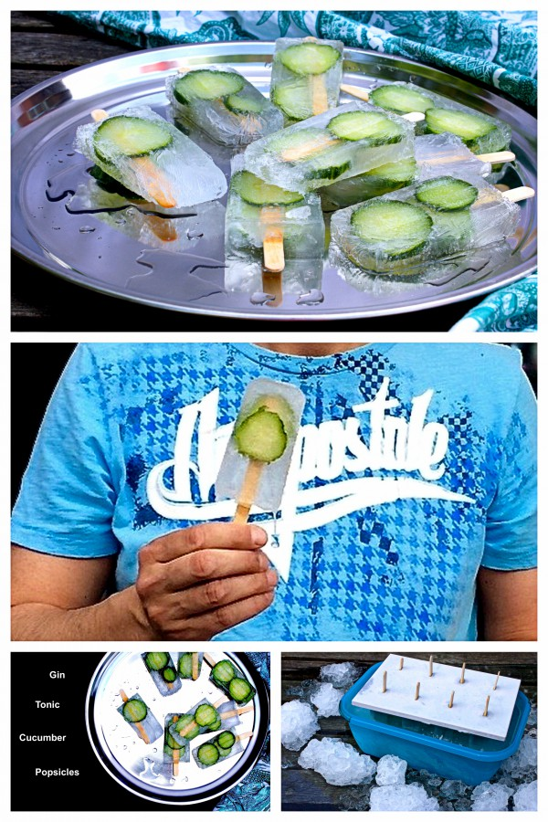 Gin Tonic Popsicles