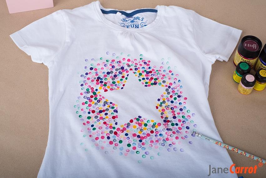 Sch Ner Wohnen heute stempeln wir ein t shirt schöner handmade kultur