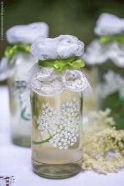 Holunderblütensirup und Holunder-Flaschen-DIY
