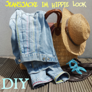 Jeansjacken upcycling