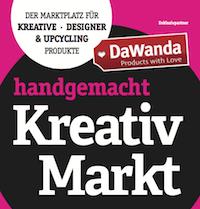 5. handgemacht Kreativmarkt DaWanda // Weimarhalle 17./18.03.2018