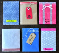 DIY Kleine Umschläge / Geschenktütchen