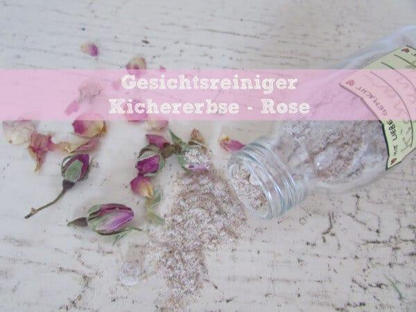 Peeling Kichererbse-Rose
