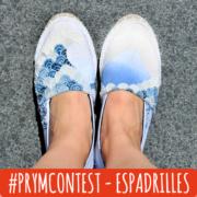 #prymcontest - Espadrilles im Japan-Look