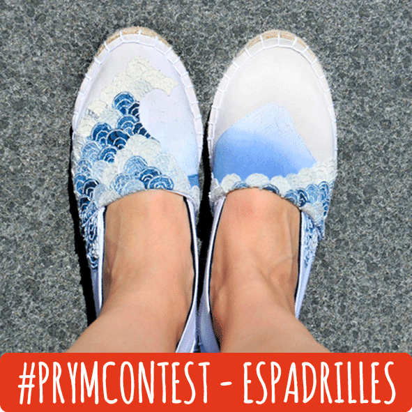 #prymcontest - Espadrilles im Japan-Look