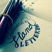 Schönschrift…oder Hand Lettering