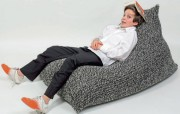 Sitzsack aus Wolle: Lass dich fallen!