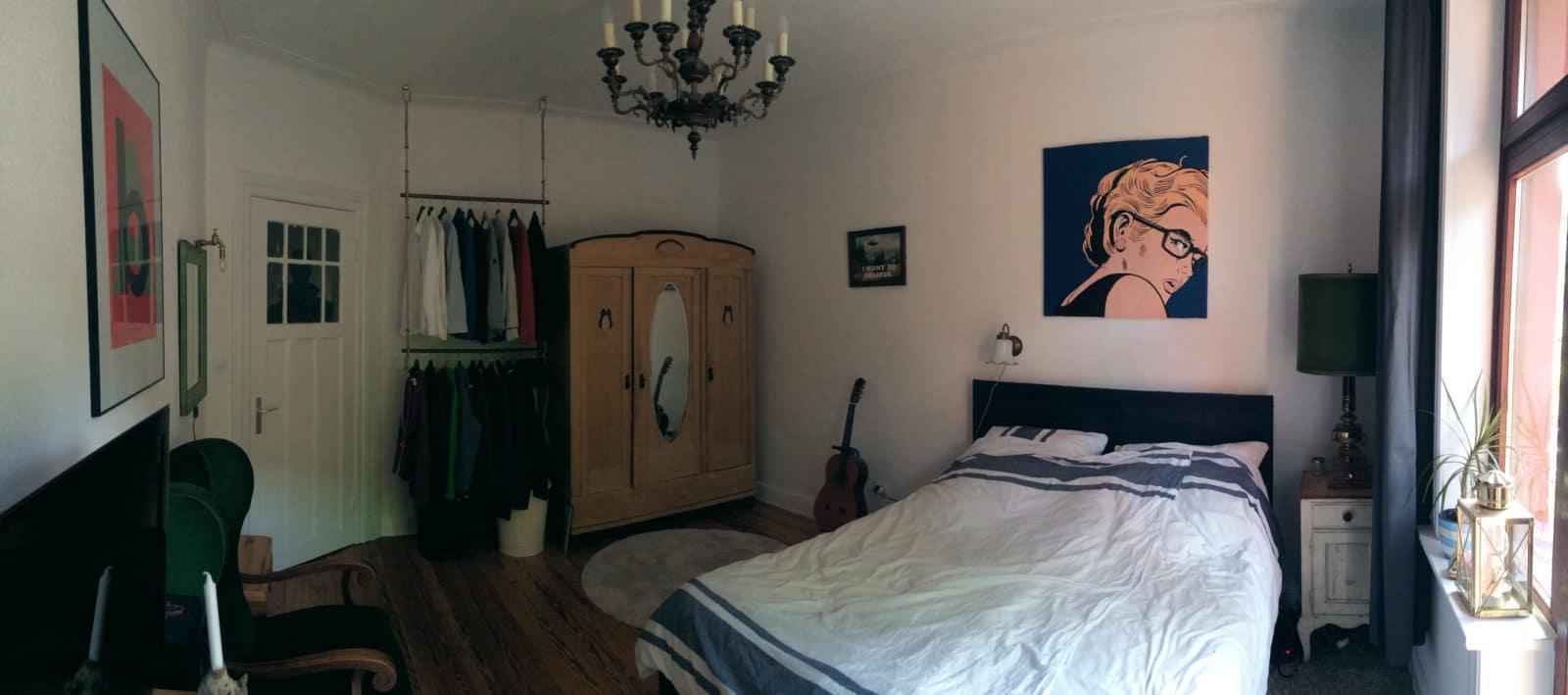 so wohnen wir teil 3 unser schlafzimmer im handmadehome handmade kultur. Black Bedroom Furniture Sets. Home Design Ideas