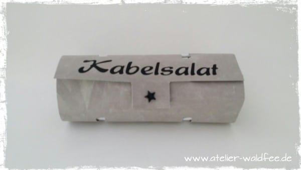 """Tasche """"Kabelsalat"""""""