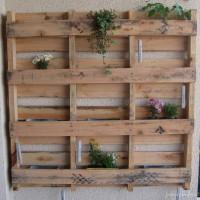 Upcycling: Kräuterbeet für den Balkon