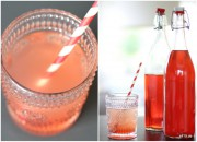 Erdbeer-Rhabarber Sirup