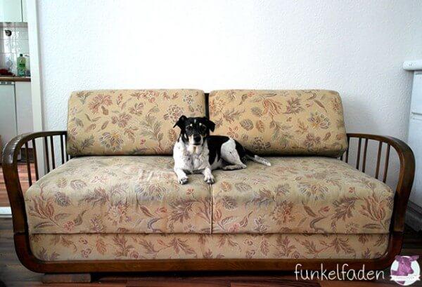 aus einem vintagesofa wird ein traumsofa handmade kultur. Black Bedroom Furniture Sets. Home Design Ideas