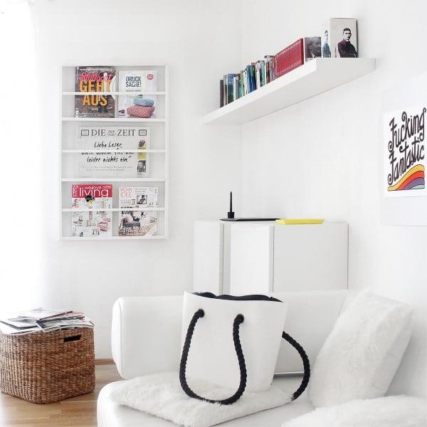 DIY Zeitschriftenhalter