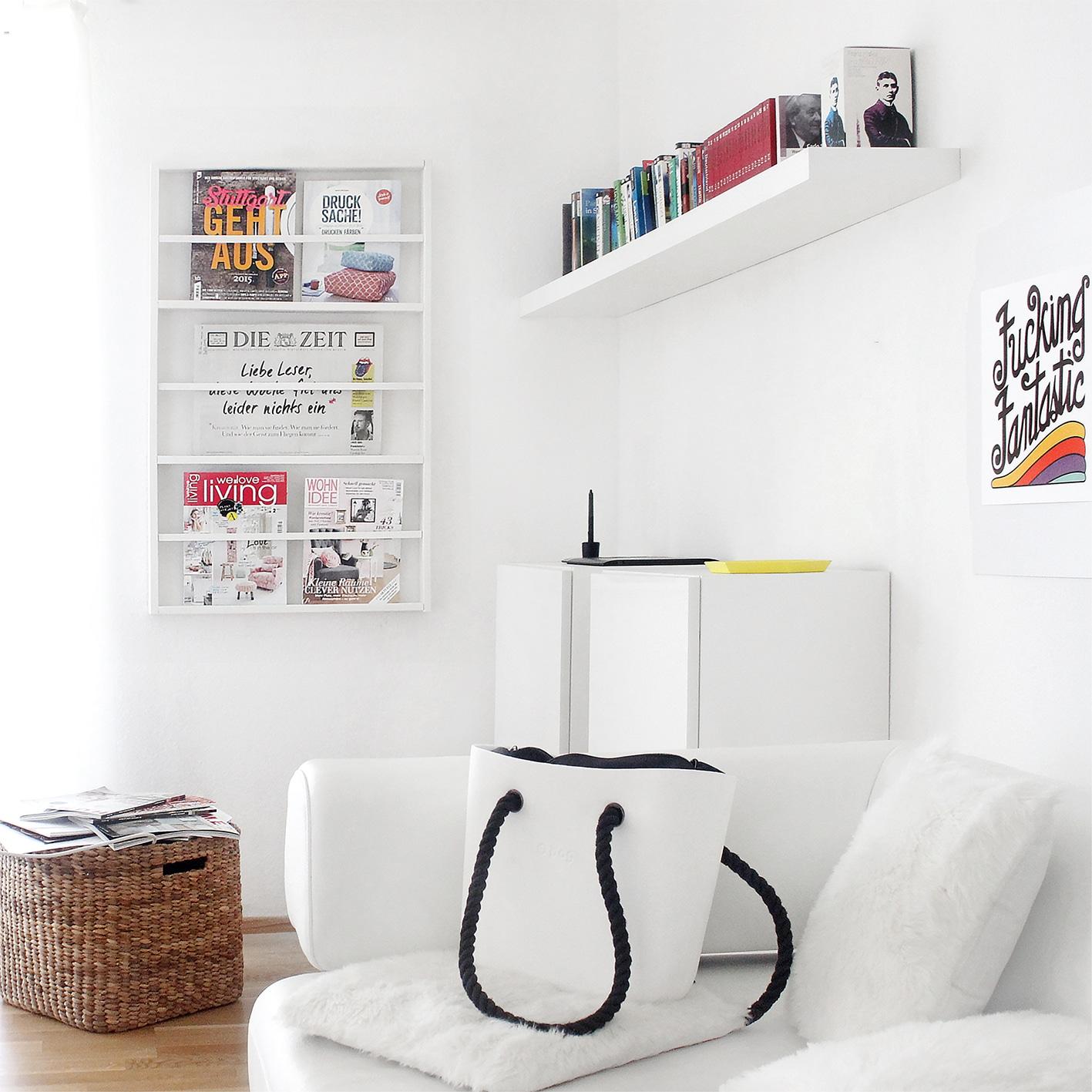 diy zeitschriftenhalter handmade kultur. Black Bedroom Furniture Sets. Home Design Ideas