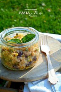 sommerfrischer Pastasalat im Glas ♥ (sponsored by Degustabox)