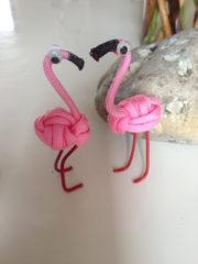 Ein Flamingo kommt selten allein