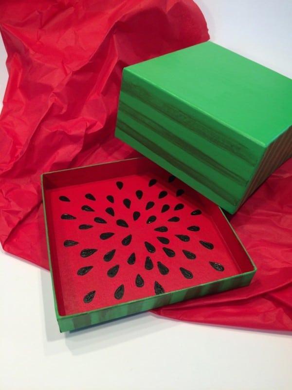 Geschenkbox Wassermelone