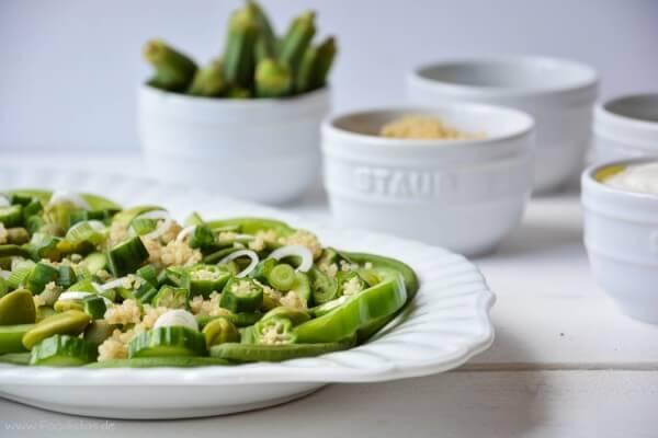 Grüner Superfood-Salat von den [Foodistas]