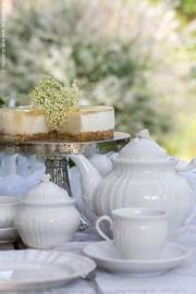 Holunderblüten-Joghurt-Torte