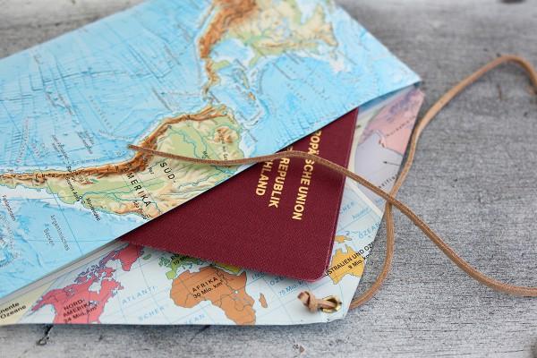 Mappe für Reiseunterlagen