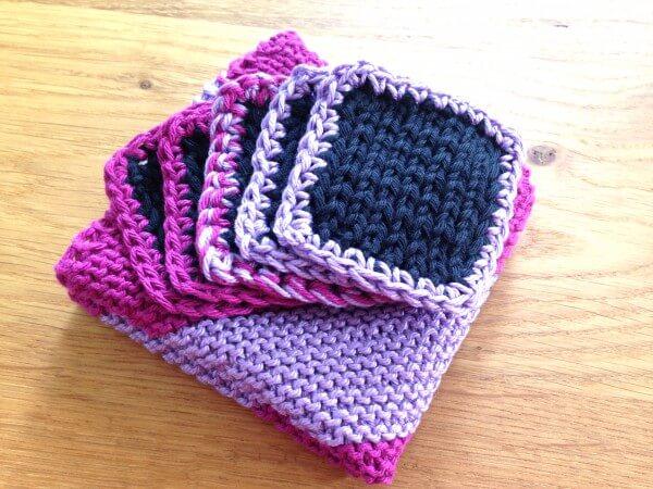Abschminkpads und Waschlappen stricken