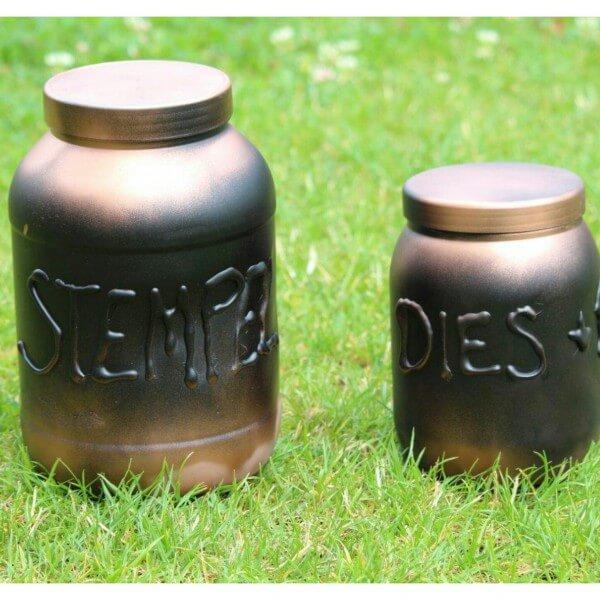 Industrial Style: Aufbewahrungsdosen Upcycling
