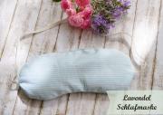 Lavendel Schlafmaske DIY