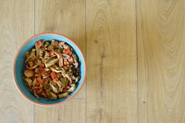 Maultaschensalat: Perfekt für eine Grillparty
