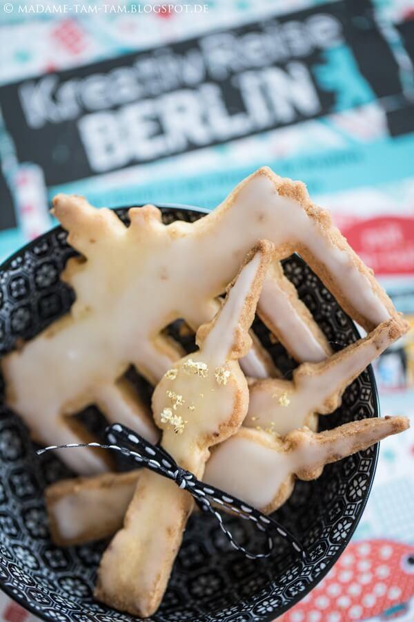 "Meine kreativen ""Berliner Holunderblüten-Cookies""!"