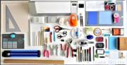 Über 50 Werkzeuge, Tools und Materialien, die ein kreativer Mensch haben sollte