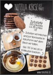 Nutella Kekse Super Schnell & Easy