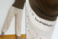 "Sarihose ""I love handmadekultur"""
