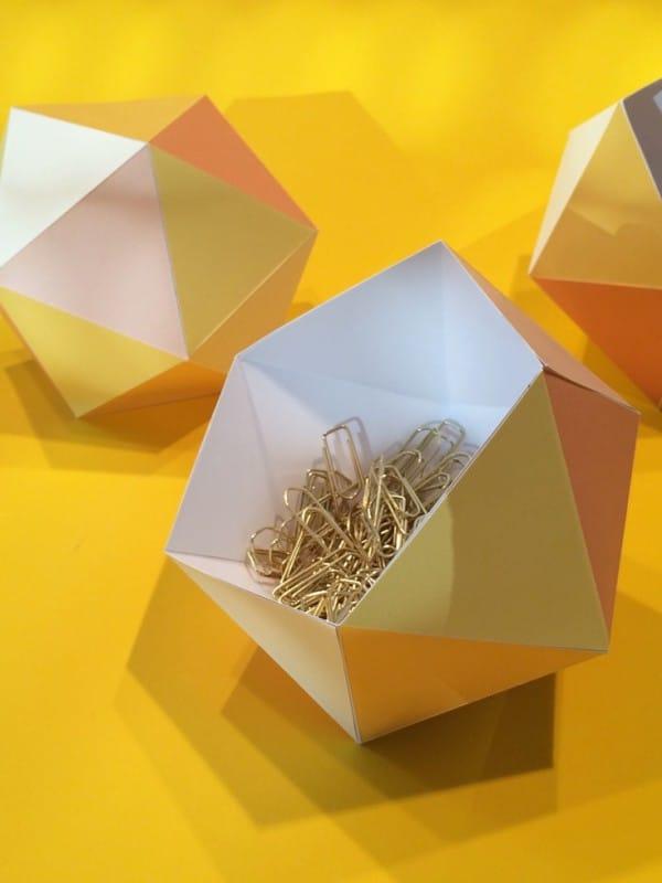 Papierschalen falten