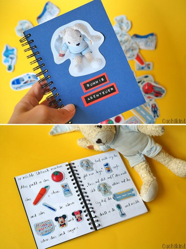 Personalisiertes Kinderbuch basteln