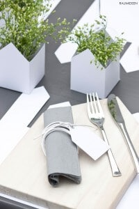 Sommerliche Tischdekoration (zweite Runde)