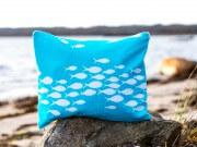 Sommernähen: Strandkissen-Badetasche
