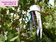 Windspiel für den Garten basteln
