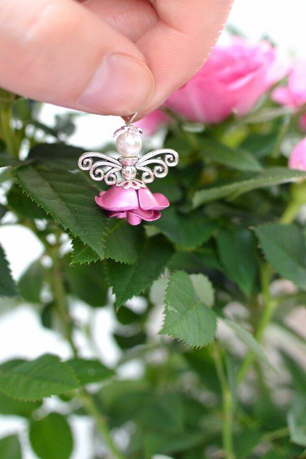 Wunderschöne Rosen- Engel zum Selbermachen