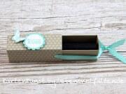 Lippenstift - Ziehverpackung /Box  - tolles, kleines Geschenk für die Frau