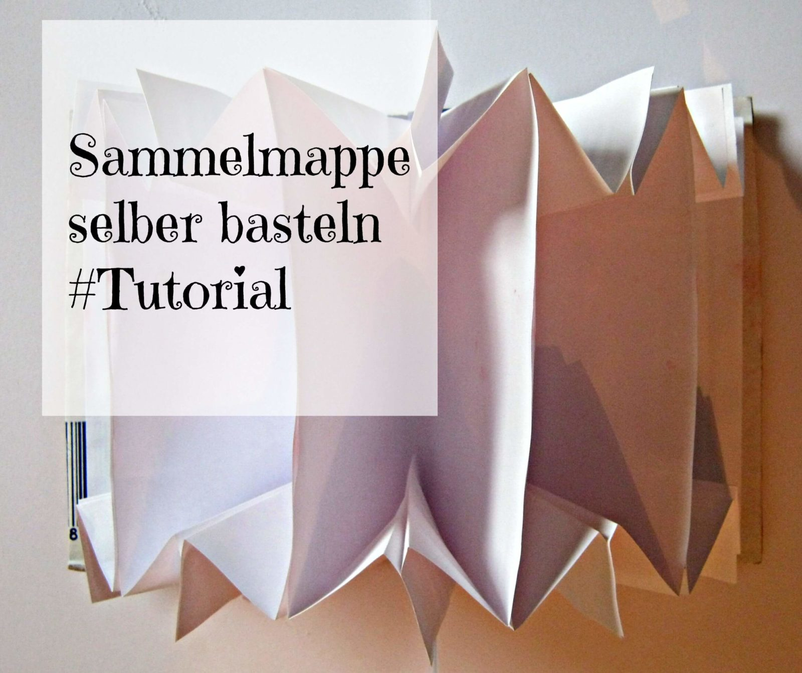 sammelmappe tutorial handmade kultur. Black Bedroom Furniture Sets. Home Design Ideas