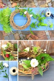 Easy: Blumendeko aus dem Garten