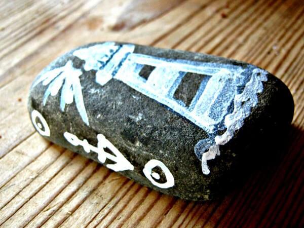 Steine bemalen - immer wieder gut!