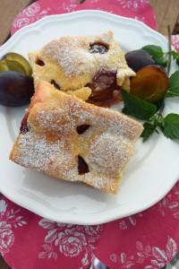 Zwetschgenkuchen mit Vanilletraum und Marzipan