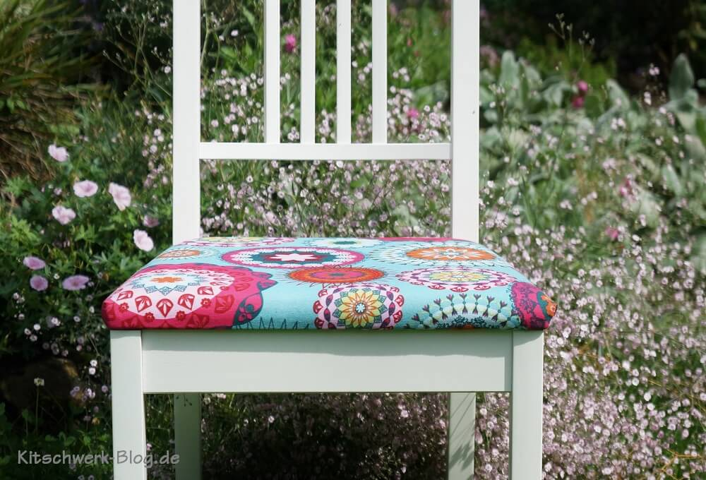 diy bezug ikea stuhl b rje handmade kultur. Black Bedroom Furniture Sets. Home Design Ideas