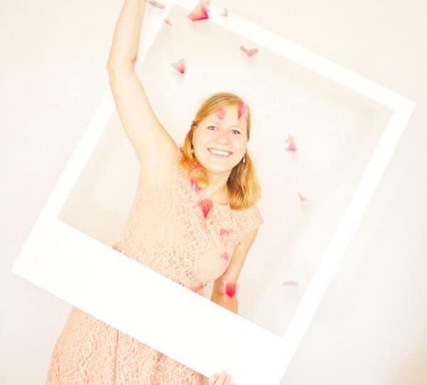 DIY Polaroid Bilderrahmen für die Fotobox
