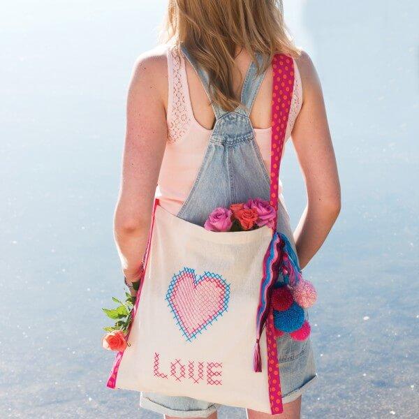 """Love Heart"" Tasche"