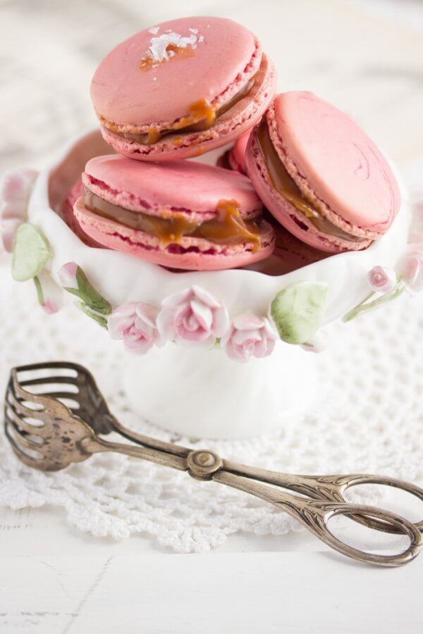 """""""Macarons mit Fleur de Sel Karamell!"""""""