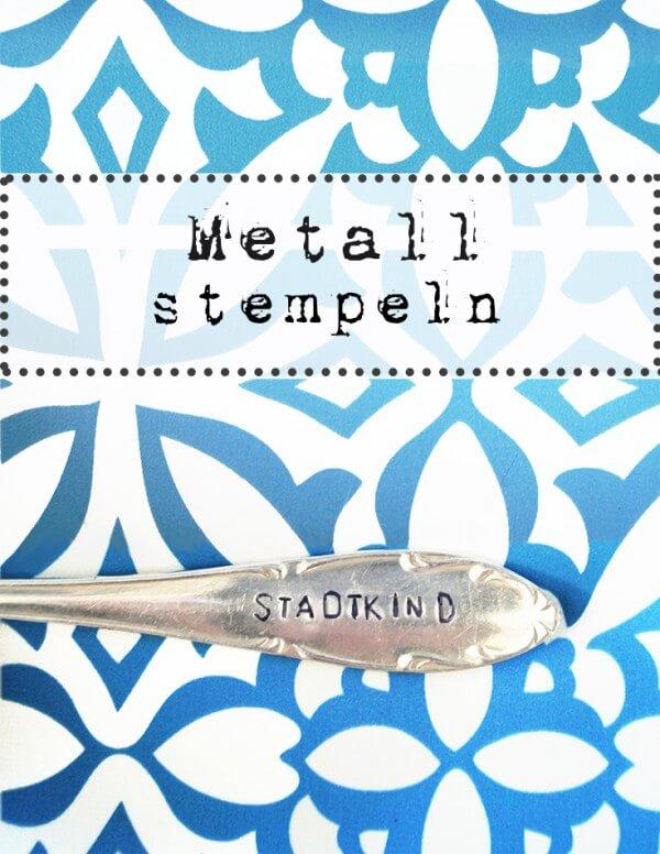 Metall stempeln