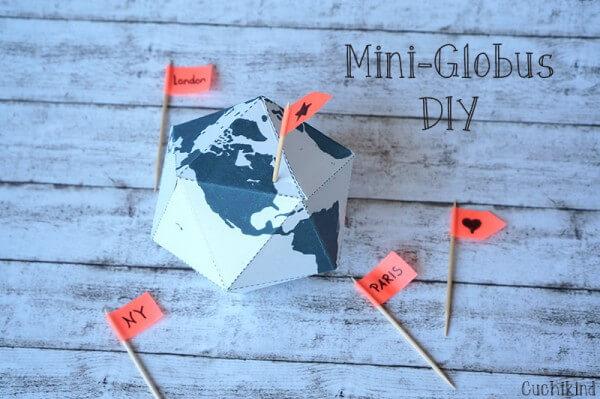 Mini-Globus DIY